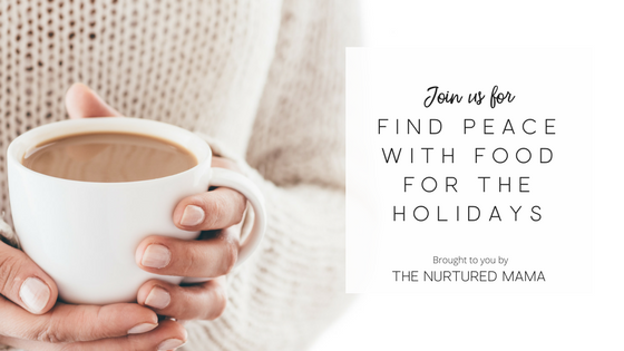 find peace with food for the holidays