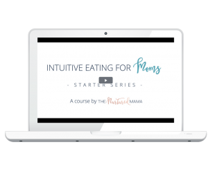 intuitive eating for moms laptop mock up