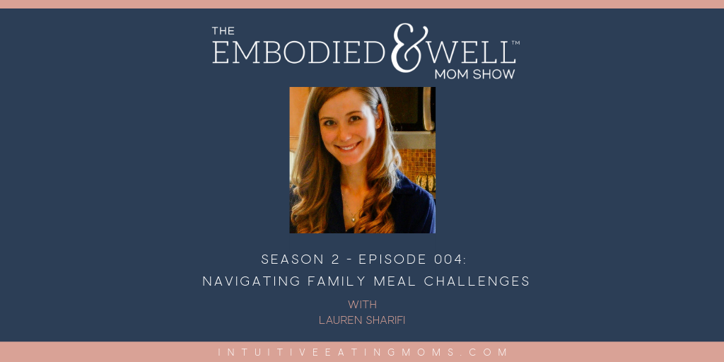 Lauren Sharifi on embodied and well mom show graphic