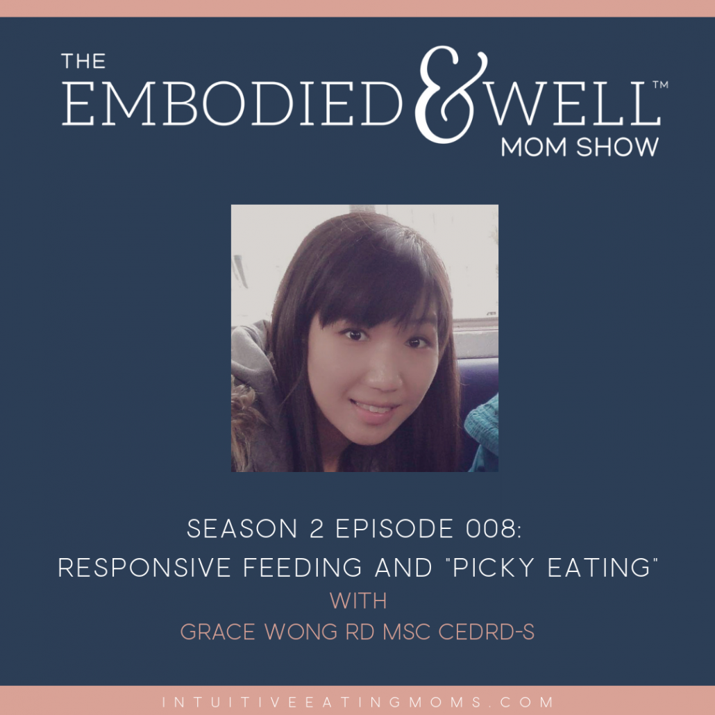 Instagram and blog graphic for Grace Wong's interview on the Embodied and Well Podcast