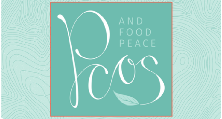 Logo for Julie Duffy Dillon's PCOS and food peace for individuals with PCOS