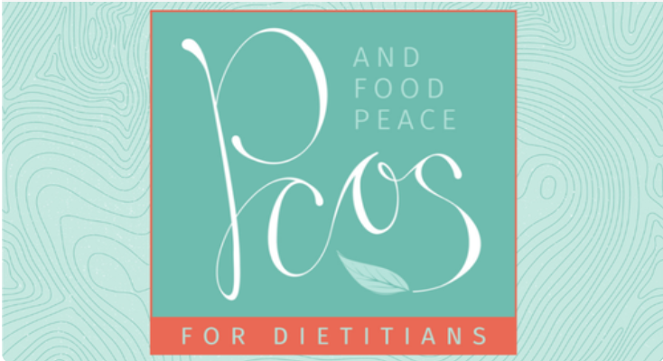 Logo for Julie Duffy Dillon's PCOS and food peace for Dietitians